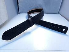 B56w Size 34 Gampg Black Basketweave Buckleless 225 Hookloop Police Duty Belt