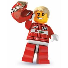 #11 LEGO Minifig series 3 Race car driver 8803 4 city