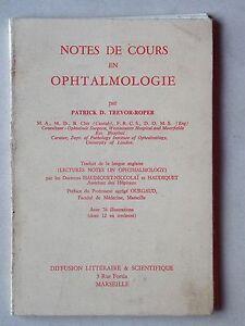 Notes de cours en ophtalmologie - Trevor Roper - Oeil