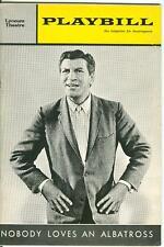 1964 Playbill Nobody Loves An Albatross Robert Preston