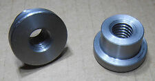 5/16-18 threaded weld BUNG  1018 Steel low Profile.