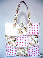 quilted patchwork bag or purse, all cotton