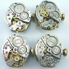 Lot of 4 Ladies Bulova Movements 6AK, 6BKC, 6BM, 6BO