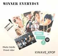 WINNER OFFICIAL 1 ZIP POUCH + 5 PIECES PHOTO CARD + 5 PIECES STICKER - SEALED