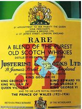Publicité Advertising 1991 Scotch Whisky J&B