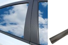 6x Premium Abc Colonne Porte Atteindre Voiture Film Kit Chrome Noir Beaucoup
