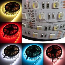 16FT RGBW 4 in 1 5050 RGB & White SMD 5M 60LEDs/M Flex LED Strip Light 12V DC