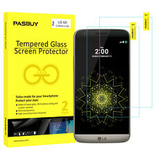 RetailBox 2 Pack Premium Tempered Glass Film Screen Protector for LG G5