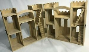 WOODEN CASTLE - READY TO DECORATE