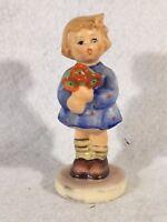 "Goebel Hummel Figurine TMK6 #239/A ""Girl with Nosegay"" 3.5"""
