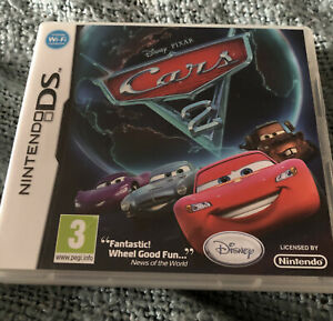 Nintendo Ds Cars CASE & MANUAL ONLY Genuine Item