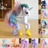 10x Sammeln Action Figuren 14cm My Little Pony Puppe Princess Celestia Spielzeug