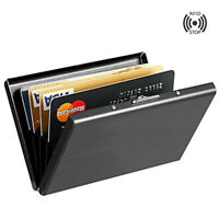 Metal Waterproof Case Box Business ID Credit Card Wallet Holder Pocket