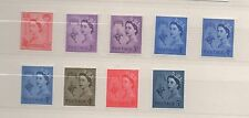 Guernsey. SG6-12. Complete set x 9 pre-decimal wildings. Fine MNH. FREEPOST!