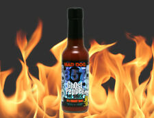 Mad Dog 357 Ghost Pepper Hot Sauce 5 fl. oz. 150,000 Scoville Bhut Jolokia