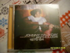 CD album JOHNNY HALLYDAY anthologie 75-84 musique rare 2002