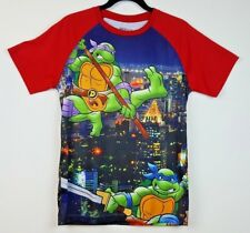 Nickelodeon TMNT T Shirt Mens Size Medium Short Sleeve Ninja Turtles Graphic Tee