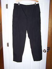 Men's Black Propper BDU Tactical Cargo SRT Police SWAT Pants Size Large Long E23