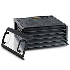Excalibur 5 Tray Dehydrator Timer Black Clear Door 4526TCDB