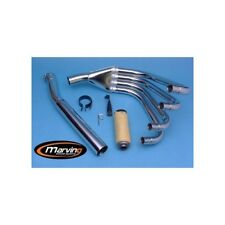 Scarico completo exhaust system racing 4 in 1 Kawasaki Z 900 1973 marving