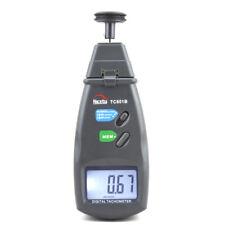 Professional Digital Laser Photo Tachometer Non Contact RPM Measurement Rotation