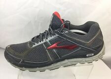 f45c88936ccbd Brooks Addiction A12 DNA Charcoal Grey Red Men s Running Shoes Sz 12.5 M