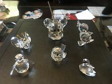 Swarovski Crystal Animals - Duck/Swan/Penguin/Bird/Mouse/Butterfly