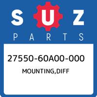 27550-60A00-000 Suzuki Mounting,diff 2755060A00000, New Genuine OEM Part