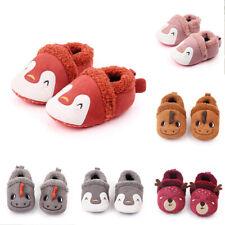 Crib Shoes Baby Slippers Knit Cartoon Anti-slip Infant Slippers Baby Boy Girl