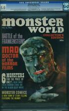Monster World 1 Cgc 5.0 Cowp Nice 1964