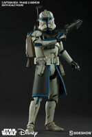Captain Rex Sixth Scale Figure by Sideshow Collectibles Phase II Armor NEW