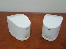 "Bose Single Cube Speaker x2 in White ""Genuine Bose Made"""