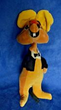 VINTAGE TREASURE PETS Fabric Tuxedo Coat Mouse Japan Stuffed Toy AS IS
