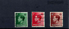 british stamps, Edviii, Inverted Watermarks, group of 3