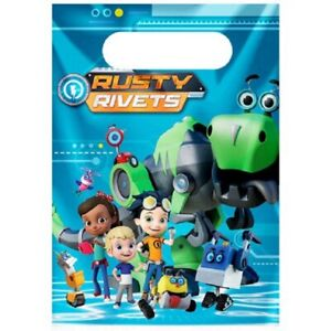 Rusty Rivets Party Loot/Party Bags Pack of 12