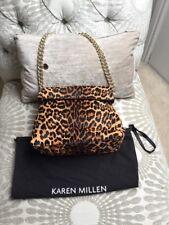 Karen Millen Leopardato ponyskin Ltd Edition Borsa a mano