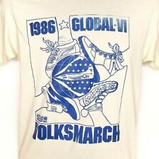 Air Force 1986 Volksmarch T Shirt Vintage 80s USAF Global Made In USA Medium
