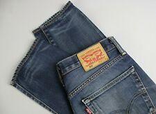 LEVI'S 508 Men's W31/L32 Fade Effect Zip Fly Blue Jeans EL14271-
