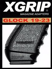 XGrip GL19-23 Adapter Fits Glock 17 22 31 Full Magazie in G19 23 32 Compact NEW