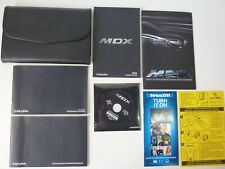 Oem 2016 Acura Mdx Owners Manual Books And Cd W/ Leather Case *Free Shipping