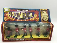 Britains Deetail 7255 Regimental Series Scots Guards With Badge 1:32 Scale 1976