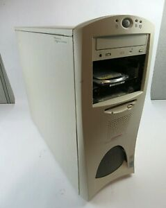 Vintage Compaq Professional Workstation 2x PIII Xeon 933 4GB RAM 40GB HDD Win XP