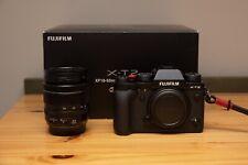 Fujifilm X-T2 Mirrorless Digital Camera with F2.8-4.0 R LM 18-55mm Lens - Black
