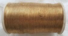 Antik: 1 x org. papel efecto brocado Garn oro bordado Gold 325g para 1940/50