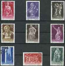 Timbres Arts Roumanie 1760/8 o lot 28778