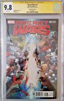 MARVEL Comics SECRET WARS #1 CGC SS 9.8 1:100 Variant SPIDER-MAN DOOM HULK THOR