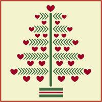 CHRISTMAS TREE STENCIL 1 - CHRISTMAS - The Artful Stencil