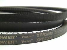 NEW! XPB2800 17mm x 2800mm  XPB-2800 Wedge Cogged Matchmaker Machine V-Belt SM