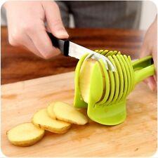 Best Tomato Holder Slicer Vegetable Onion Potato Fruit Peeler Cutter DIY Tools #