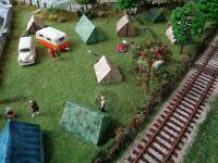 Model Railway SMALL TENTS Mould - OO Gauge - DT36